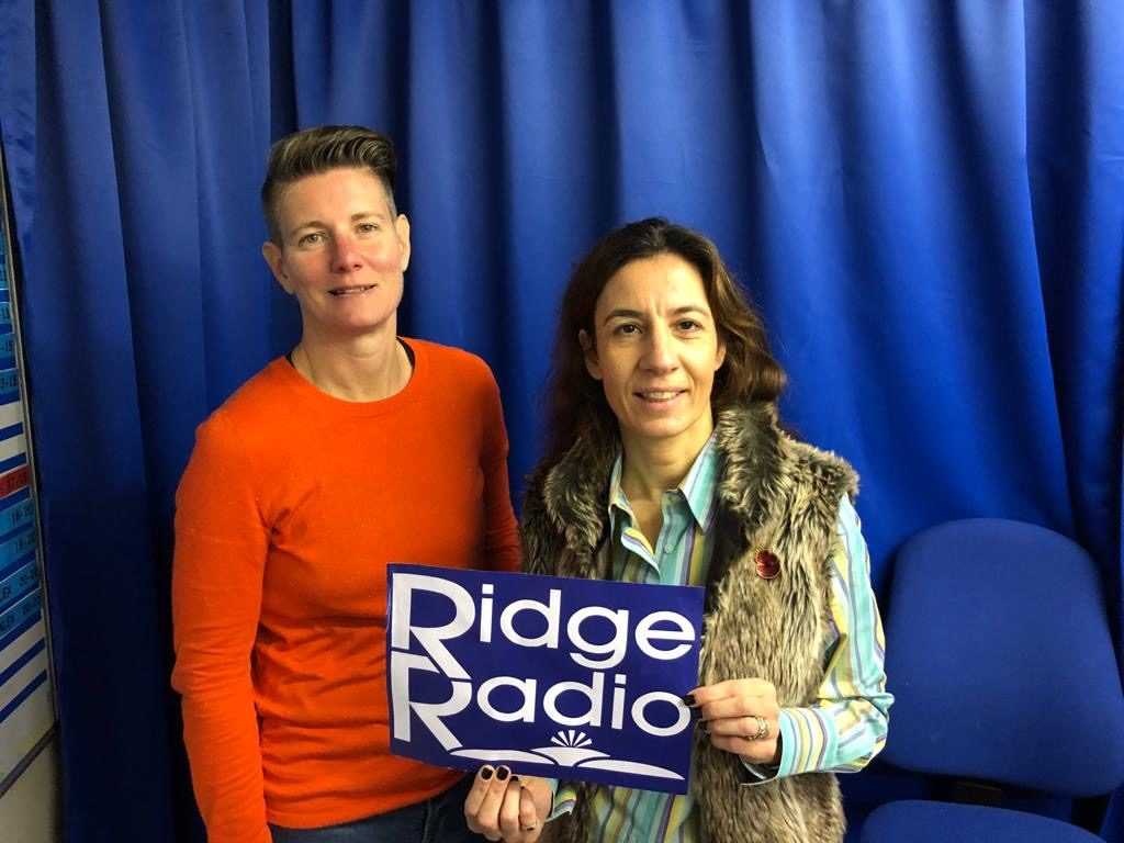 Leanne Spencer founder of Bodyshot Performance with the host of Ridge Radio