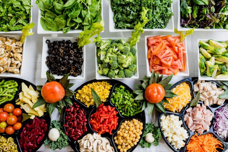 Get More Variety In Your Diet images of lots of healthy colourful food